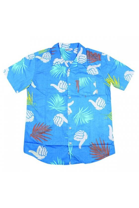 Bro Style - Tropic Print Blue