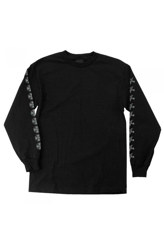 Independent - Thrasher Pentagram Cross L/S Black