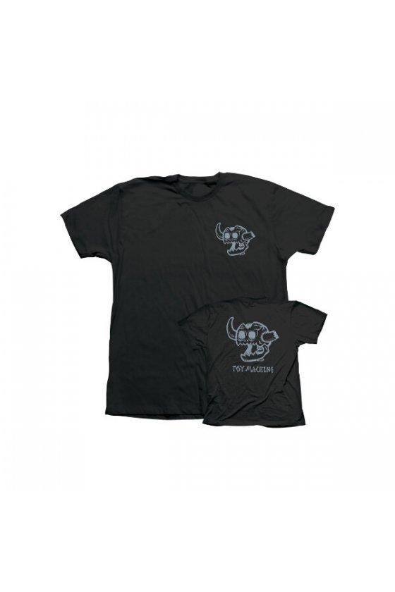 Toy M. - Monster Skull Black