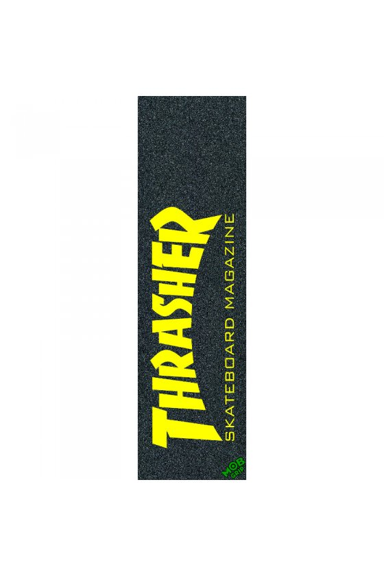 Mob - Thrasher Skate Mag Yellow 9in x 33in