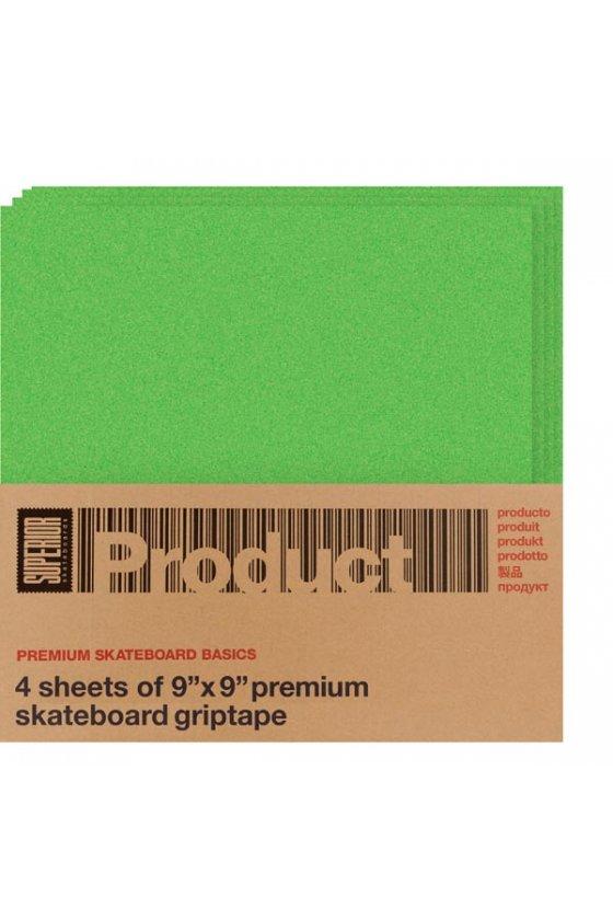 Superior - Green Grip Tape 4 pk 9X9 squares