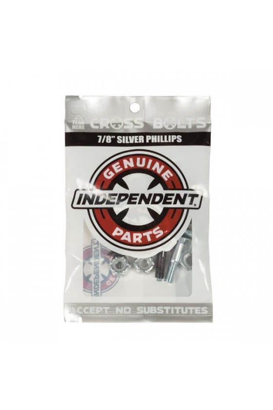 Independent - Genuine Parts Phillips Hardware 7/8 in Black/Silver