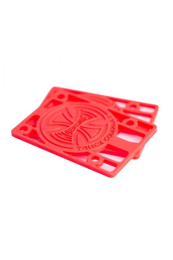 Independent - Genuine Parts Riser 1/8 Red