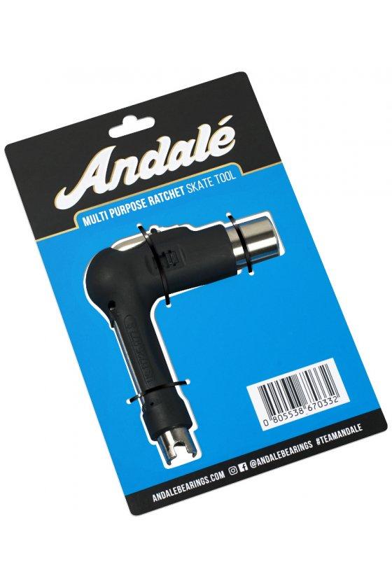 Andale - Multi Purpose Ratchet Tool Black ( con crichetto )