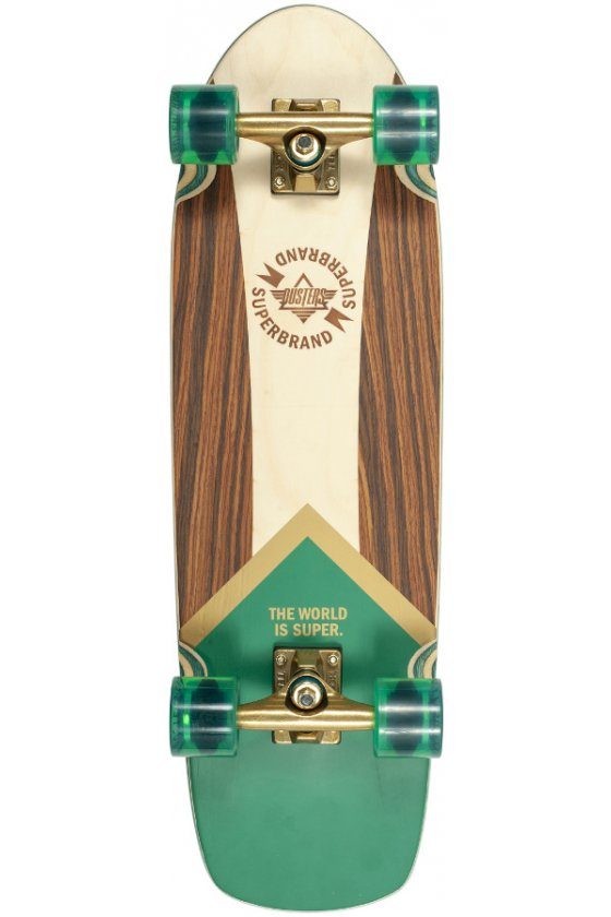 """Dusters - Superbrand Green Gold 29.5"""" x 8.75"""" - Wheel Base 15.0"""" - Tensor 6.0"""" - 60x43,8mm 83A"""