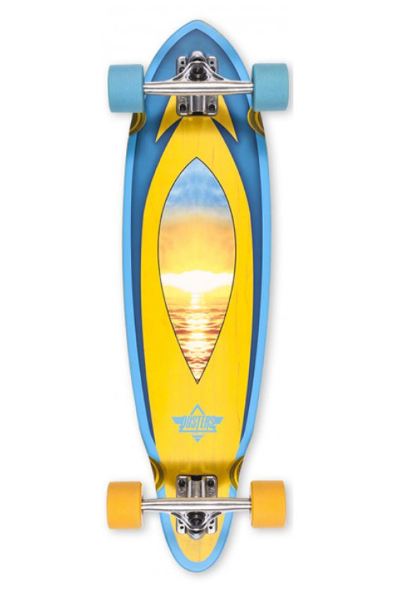 Dusters - Mini Fin Cruiser Sunset 31""