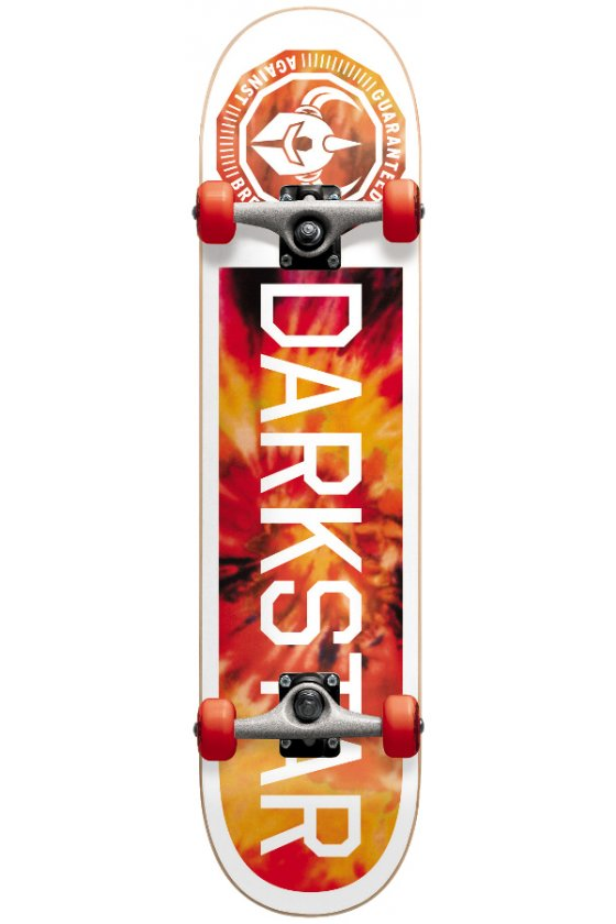 Darkstar - Timeworks Fp Micro Red Tie Dye Soft Top 6.5""