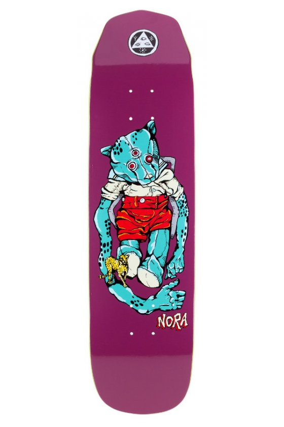 Welcome - Pro Teddy - Nora Vasconcellos Pro Model Grape 8.125 Wicked Princess