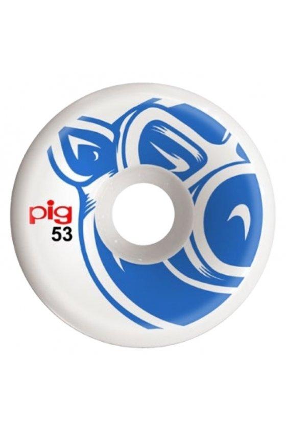 Pig - Team Head Blue C-Line 53mm 101A