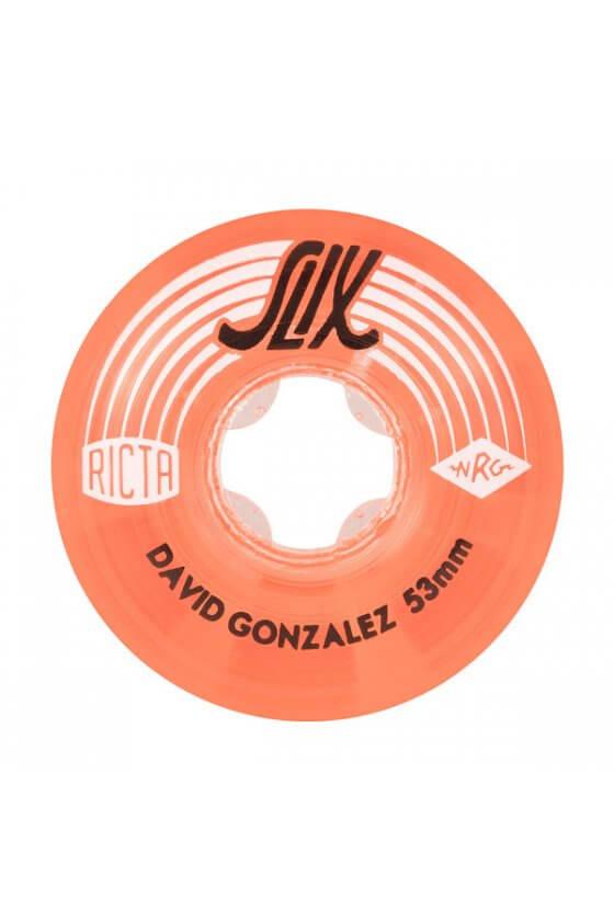 Ricta - 53mm David Gonzalez Crystal Slix Clear Red 99a Ricta