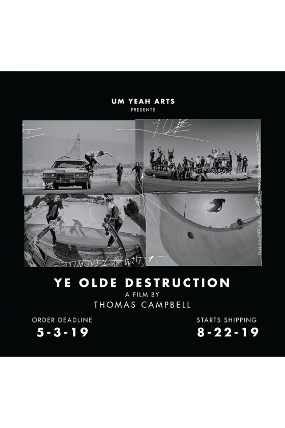 Independent - Ye Olde Destruction Book/Film