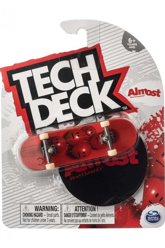 Almost - Mullen Balloons Red Tech Deck