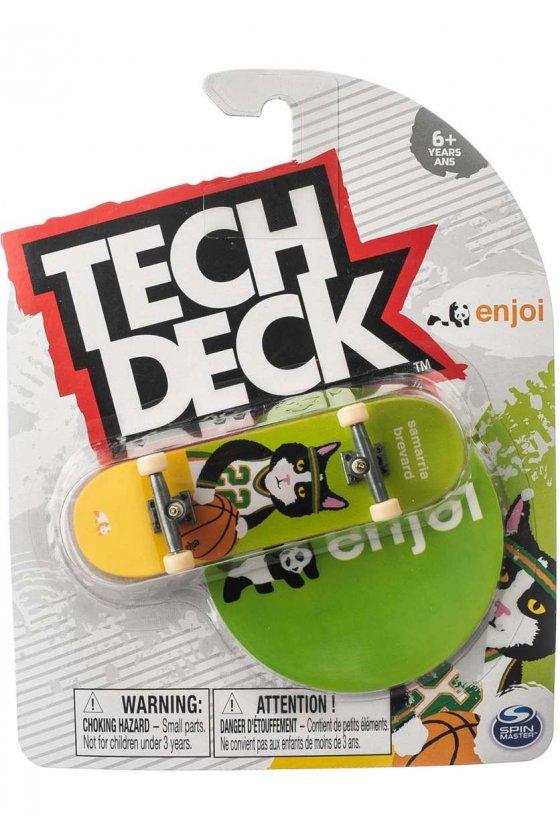 Enjoi - Samarria Cat Magnet Green Tech Deck
