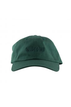 Welcome - Tonal Scrawl Unstructured 6-Panel Spruce