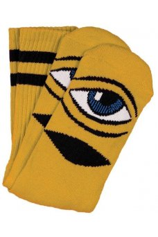 Toy M. - Tm Sect Eye Sock Iii Sock Mustard