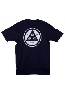 Welcome - Talisman Tee Navy/White