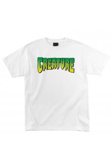 Creature - Creature Logo White Taglia M