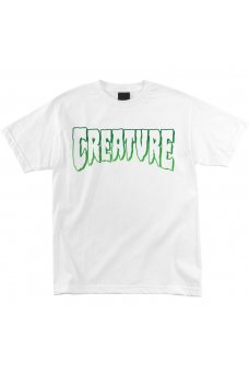 Creature - Logo Outline White