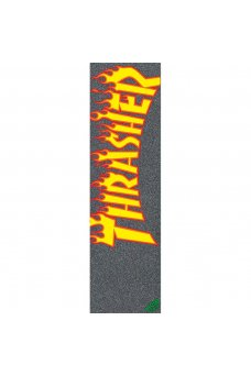 Mob - Thrasher Yellow And Orange Flame 9in x 33in