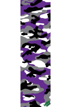 Mob - Camo Purple GripTape 9in x 33in Graphic Mob