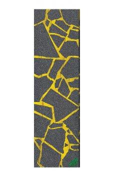 Mob - Griptape Grafica Scraps Grip Tape Black Yellow 9in x 33in