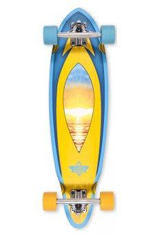 "Dusters - Mini Fin Cruiser Sunset 31"""