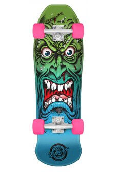 Santa Cruz - Mini Roskopp Face 8.025in x 26.0in Cruzer 80s Cruzer