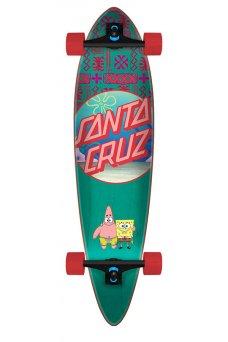 Santa Cruz - SpongeBob Best Buds 9.58in x 39.0in Cruzer Pintail
