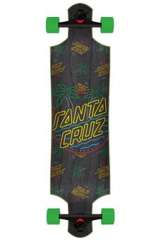 Santa Cruz - Glow Dot 10in x 40in Cruzer Drop Down