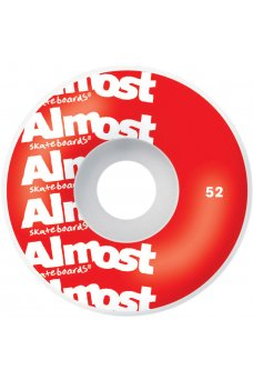 Almost - Unknown Pleasure FP Red 7.75