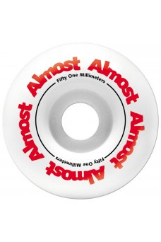 Almost - Color Logo Youth Premium Mid White 7.375