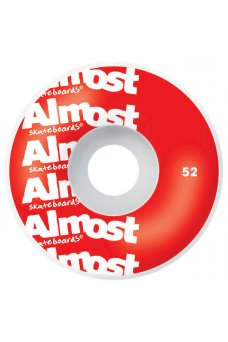 Almost - Color Logo Fp Red 8.0