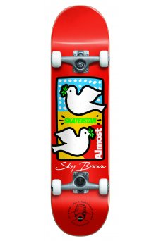 """Almost - Double Doves Skateistan FP Red 7.5"""""""