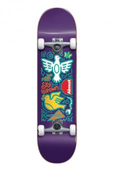 """Almost - Skateistan Sky Doodle FP Purple 7.875"""""""