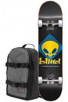 "Blind - Retro Reaper Scout Black 7.75"" W/Backpack"