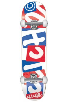 Cliche - Chopped FP Blue Red 7.875""