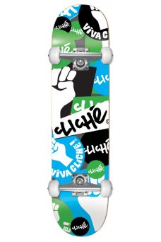 Cliche - Patch FP Blue Green 7.75""