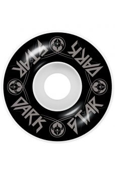 Darkstar - Badge Soft Wheels Silver Mid 7.375