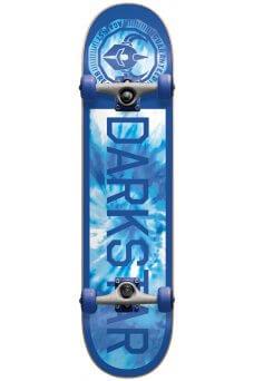 "Darkstar - Timeworks Fp Micro Blue Tie Dye Soft Top 6.5"""
