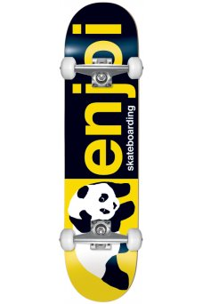 Enjoi - Half And Half FP Black Yellow 8.0""