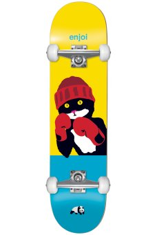 Enjoi - Catty Pacqmeow FP Yellow Blue 8.25""