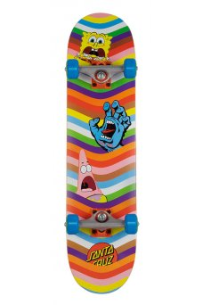 Santa Cruz - SpongeBob Waves Sk8 Completes 7.5in x 30.6in