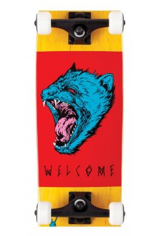 Welcome - Tasmanian Angel Complete Yellow/Red/Blue 8.25 Scaled Down Nimbus 3000