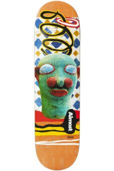 Almost - African Mask Series Max Geronzi R7 8.5""