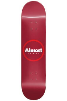 Almost - Team Red Ring Red 8.25""
