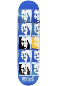 "Blind - Team Psychedelic Multi Girl Blue 8.25"""