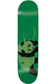Enjoi - Team Circuit Board R7 Green Gold 8.25""