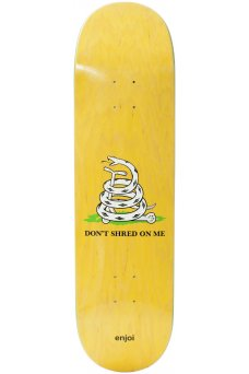 Enjoi - Team Dont Shred R7 Yellow 8.5""