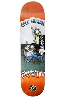 "Foundation - Pro Wilson Student Orange 8.0"""