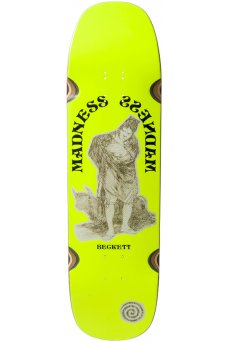 Madness - Pro Beckett Ox R7 Neon Yellow 8.75""